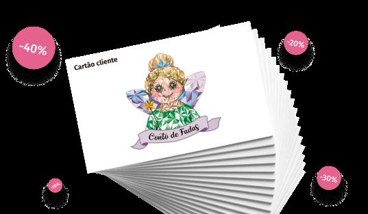 Cartão Cliente Conto de Fadas