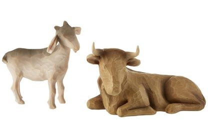26180 ox and goat boi e cabra presépio willow tree susan lordi