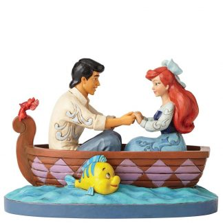 disney traditions jim shore ariel a pequena sereia eric flounder linguado