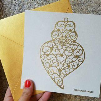 postal coração de viana do castelo