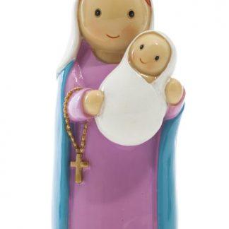 a virgem maria anjo santo religião religion cute fofo comunhão batizado baptizado figura religiosa anjinho guarda menina menino baptismo