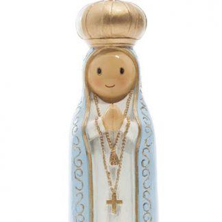 nossa senhora de fátima anjo santo religião religion cute fofo comunhão batizado baptizado figura religiosa anjinho guarda menina menino baptismo