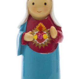 Imaculado Coração de Maria anjo santo religião religion cute fofo comunhão batizado baptizado figura religiosa anjinho guarda menina menino baptismo