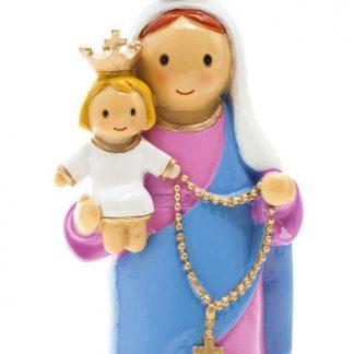 nossa senhora do rosário anjo santo religião religion cute fofo comunhão batizado baptizado figura religiosa anjinho guarda menina menino baptismo