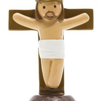 cristo crucificado anjo santo religião religion cute fofo comunhão batizado baptizado figura religiosa anjinho guarda menina menino baptismo
