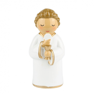 anjo de portugal anjo santo religião religion cute fofo comunhão batizado baptizado figura religiosa anjinho guarda menina menino baptismo