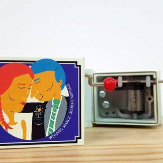 caixa de música realejo marcha nupcial casamento