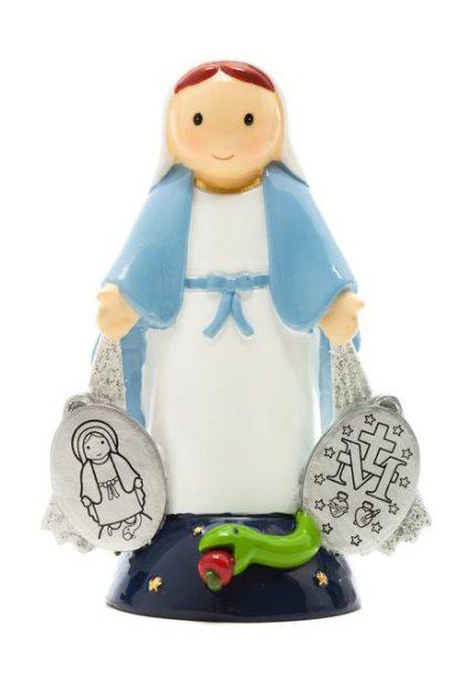 nossa senhora da graça anjo santo religião religion cute fofo comunhão batizado baptizado figura religiosa anjinho guarda menina menino baptismo