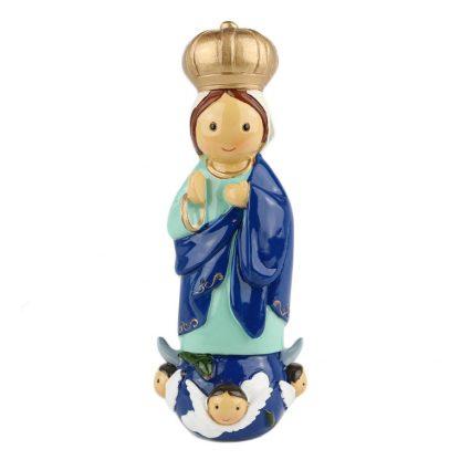 nossa senhora do sameiro anjo santo religião religion cute fofo comunhão batizado baptizado figura religiosa anjinho guarda menina menino baptismo
