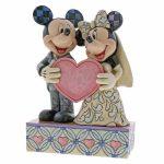 disney mickey minnie disney traditions jim shore noivos casamento topo de bolo