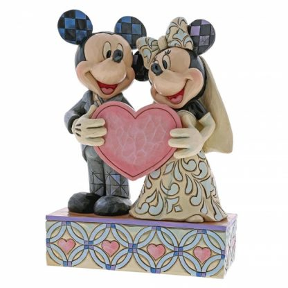 disney mickey minnie disney traditions jim shore noivos casamento topo de bolo