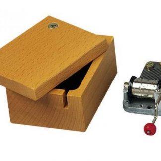 caixa madeira para realejo