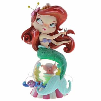 miss mindy linguado flounder a pequena sereia disney showcase collection
