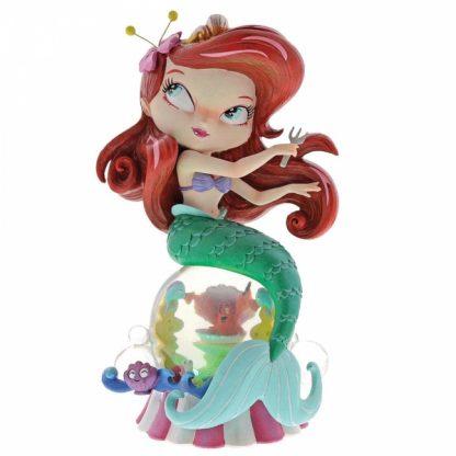 miss mindy linguado flounder a pequena sereia disney showcase collection