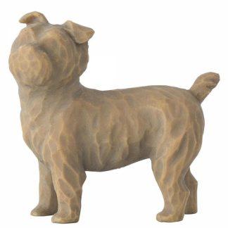 cão figura estátua família anjo peça decoraçao casa significado amizade amor felicidade willow tree desejo aniversário presente