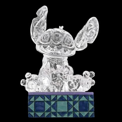 disney traditions gelo jim shore natal luz no escuro mickey stitch