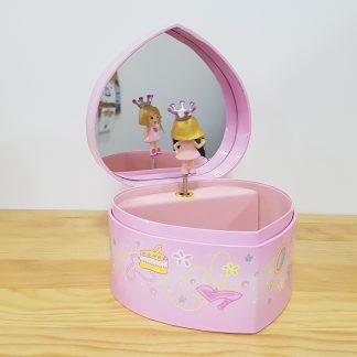 caixa de música caixa de bailarina princesa