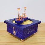 caixa de música criança bebé circo winnie the pooh girafa sofia