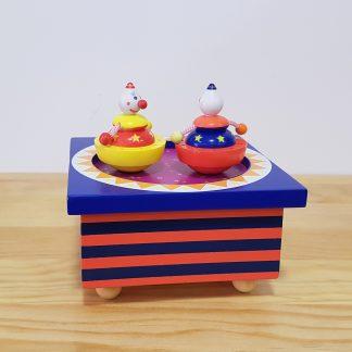 caixa de música criança bebé circo
