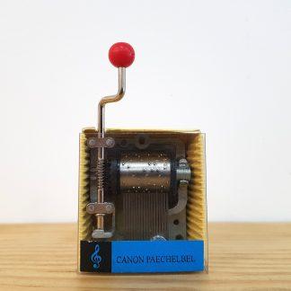 caixa de música realejo canon paechelbel