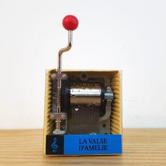 caixa de música realejo la valse d'amélie