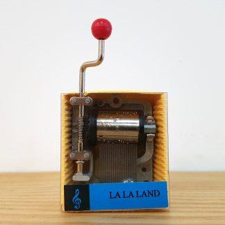 caixa de música realejo la la land