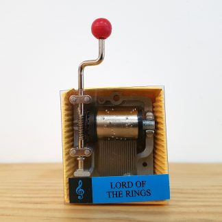 caixa de música realejo lord of the rings