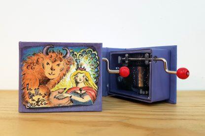 caixa de música realejo bela e o monstro