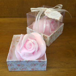 artesanato botão de rosa sabonete madrinha