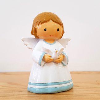 anjo santo religião religion cute fofo comunhão batizado baptizado figura religiosa anjinho guarda menina menino baptismo