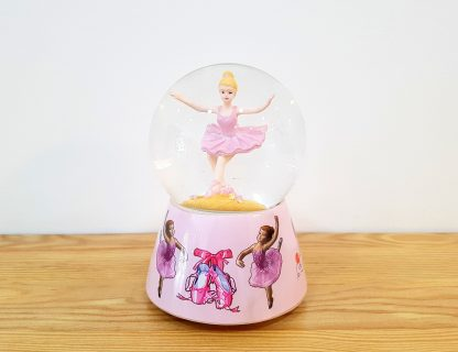 anjo snowglobe caixa de música globo de neve bailarina