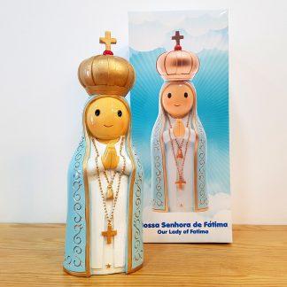 nossa senhora fátima anjo santo religião religion cute fofo comunhão batizado baptizado figura religiosa anjinho guarda menina menino baptismo