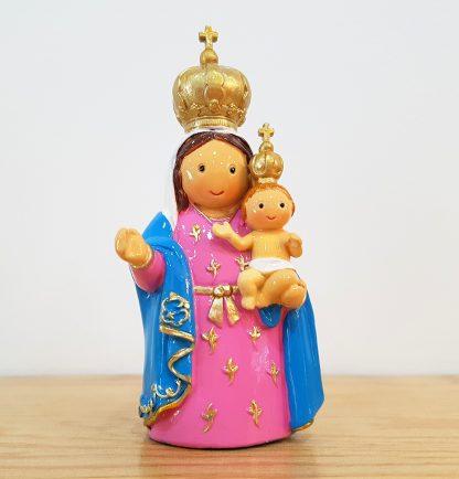 nossa senhora da ajuda anjo santo religião religion cute fofo comunhão batizado baptizado figura religiosa anjinho guarda menina menino baptismo