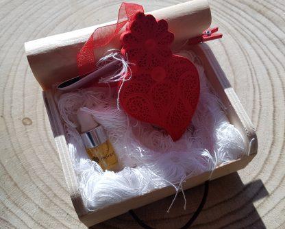 coração de viana gesso perfumado filigrana artesanato portugal agostinha