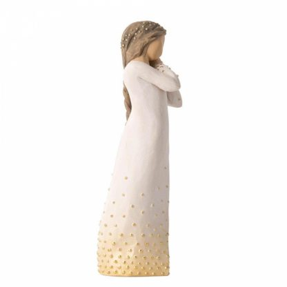 figura estátua família anjo peça decoraçao casa significado amizade amor felicidade willow tree desejo aniversário presente