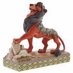 disney traditions jim shore scar rei leão