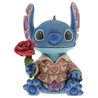 disney traditions jim shore stitch amor