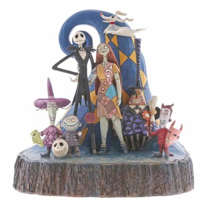 nbx nightmare before christmas jack sally skellington disney traditions jim shore