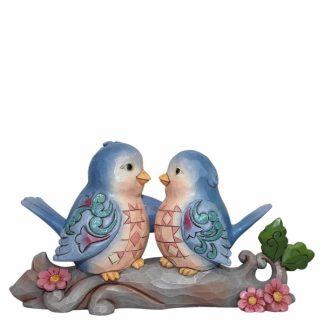 disney traditions jim shore passarinho topo de bolo amor