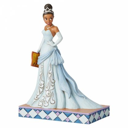 disney traditions jim shore tiana a princesa e o sapo