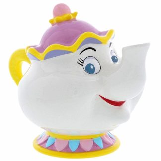 mrs. potts bela e o monstro mealheiro disney enchanting