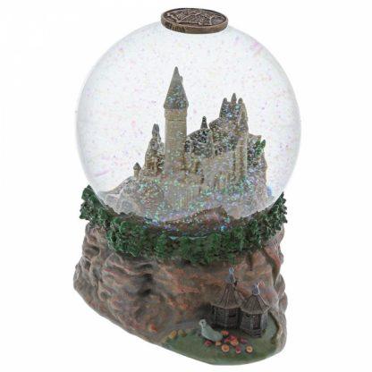 hogwarts harry potter globo de neve snowglobe