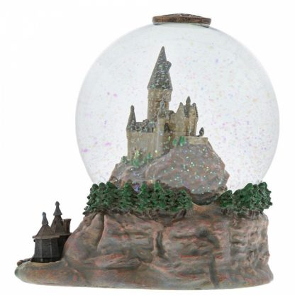 harry potter hogwarts globo snowglobe