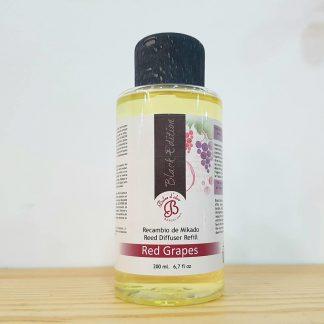 uvas vermelhas óleo difusor aromatizador aroma casa boles d'olor