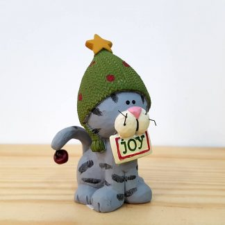 natal rena decoração rodolfo pai natal gato