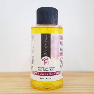 uvas e laranjas óleo difusor aromatizador aroma casa boles d'olor