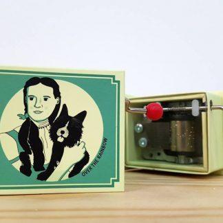 caixa de música realejo over the rainbow feiticeiro de oz