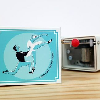caixa de música realejo swan lake lago dos cisnes