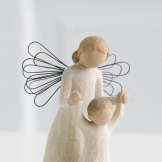 susan lordi figura estátua família anjo peça decoraçao casa significado amizade amor felicidade willow tree desejo aniversário presente anjo da guarda madrinha afilhado afilhada