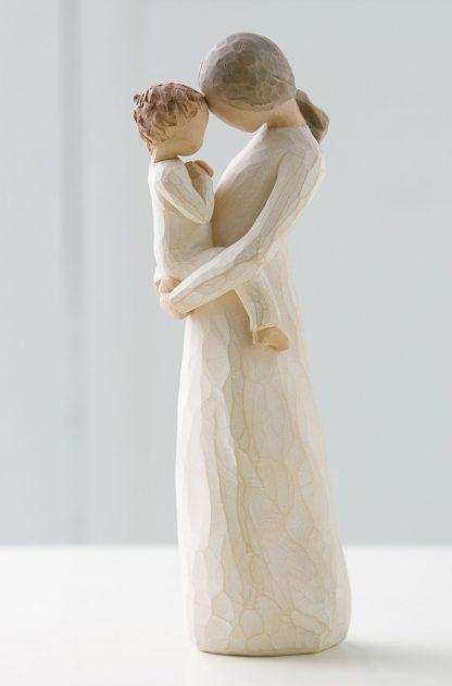 susan lordi figura estátua família anjo peça decoraçao casa significado amizade amor felicidade willow tree desejo aniversário presente carinho mãe colo filho